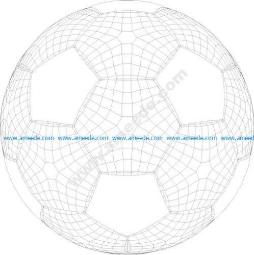 Ball 3d illusion vector file