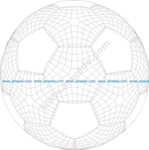 Ball 3d illusion vector file