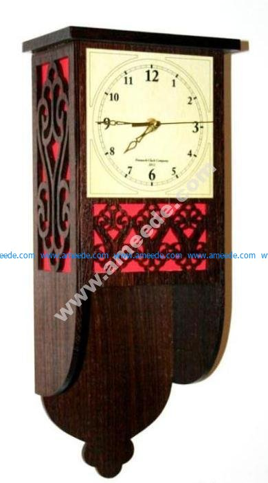 Fret Wall Clock