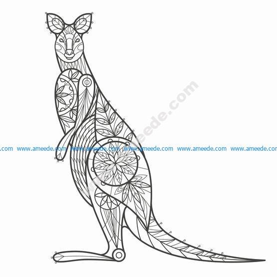 Kangaroo Vintage