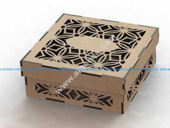 Laser Cut Box Template