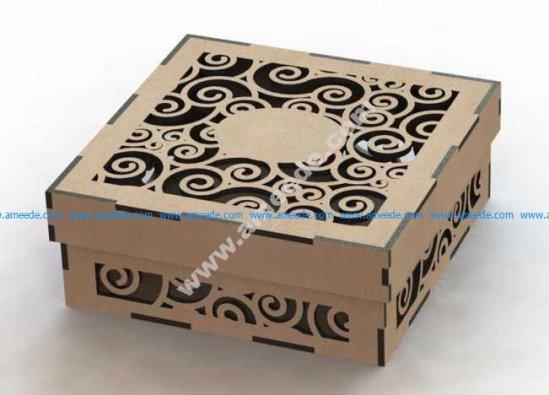 Laser Cut Wood Box Template