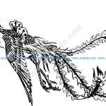 Phoenix Bird Free Vector Art