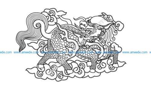 Unicorn – Vietnamese mascot