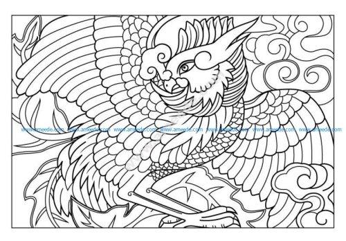 classical phoenix vector