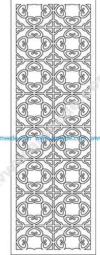 pattern vector cnc carvings 2D18