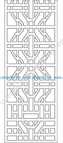 pattern vector cnc carvings 2D20