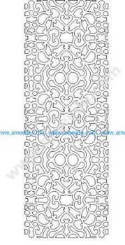 pattern vector cnc carvings 2D5