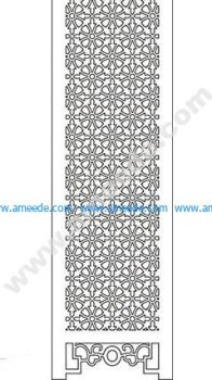 pattern vector cnc carvings 2D8