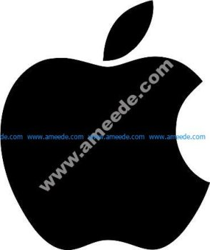 Apple Vector Logo Free Vector