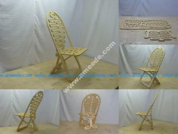 Fancy Plywood Chair