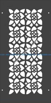 Floral Pattern Separator