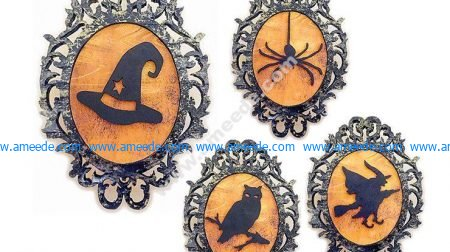 Halloween Plaques Patterns