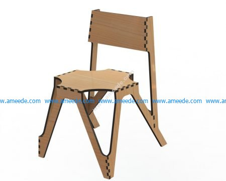 Laser Cut Decor Chair