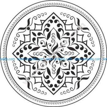 Mandala Flower Free Vector