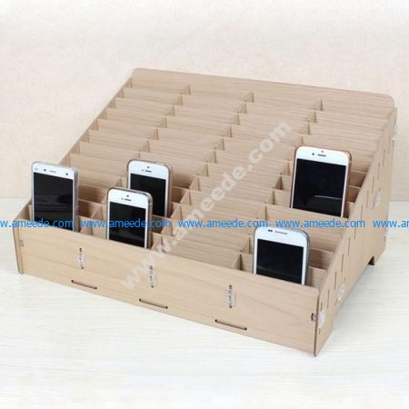Mdf Mobile Phone Store Rack Laser Cut
