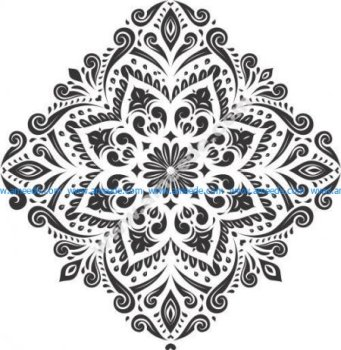 Pattern of rhombus