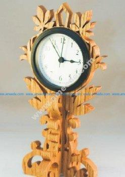 Pattern of wood base brackets