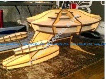 Space Ship 3D Puzzle