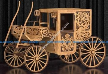 Stage Coach Laser Cut Plans