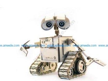 WALL-E Laser Cut