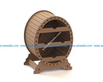 Wine Rack Oval
