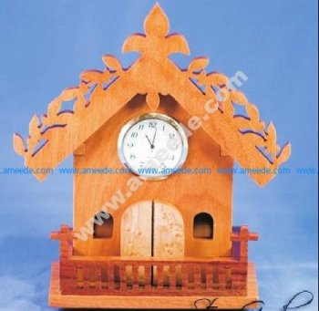 clock shaped house
