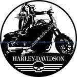 Harley-Davidson wall clockHarley-Davidson wall clock