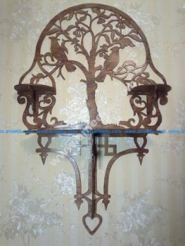 Ornamental Shelf Laser Cut