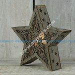 Star Light Lamp Laser Cut