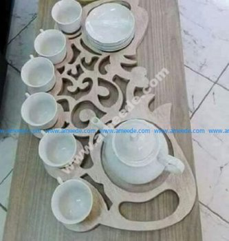 Teapot tray for tea