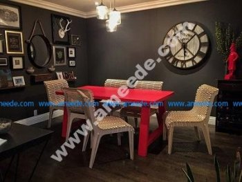 set of reclining tables and chairs