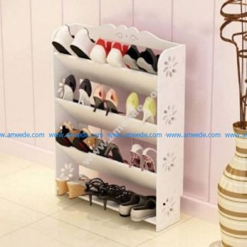 49 Wooden Shelves Set