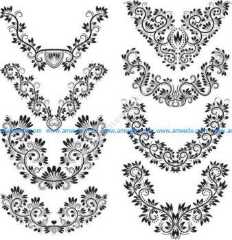 6 V-shaped wire pattern