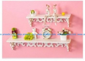 79 Wooden Shelves Set