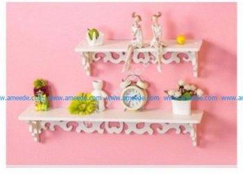 79 Wooden Shelves Set