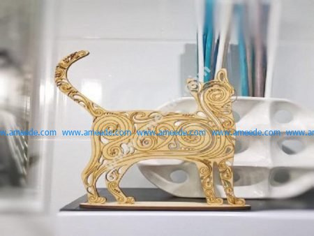 Cute Cat Jewelry Organizer
