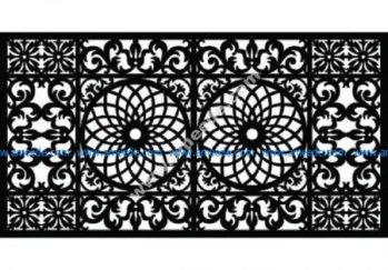 Decorative Screen Pattern 24