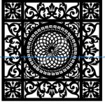 Decorative Screen Pattern 25