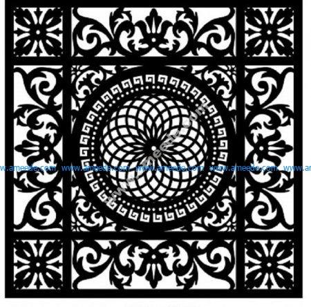 Decorative Screen Pattern 25