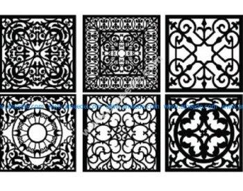 Decorative Screen Pattern 26