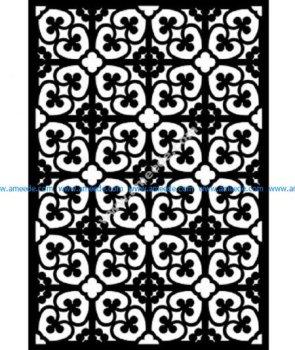 Decorative Screen Pattern 27