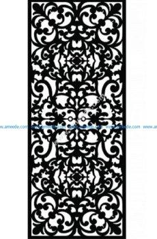 Decorative Screen Pattern 36