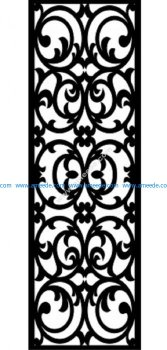 Decorative Screen Pattern 45