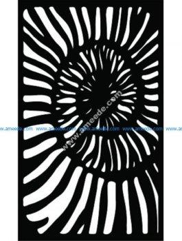 Decorative Screen Pattern 48