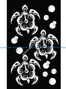Decorative Screen Pattern 49