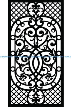 Decorative Screen Pattern 53
