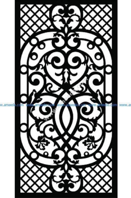 Decorative Screen Pattern 53