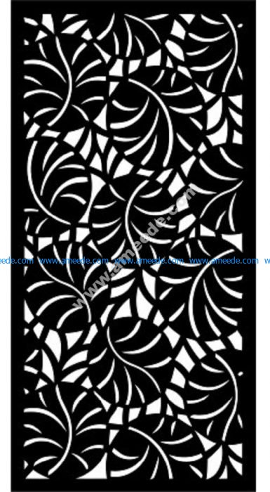 Decorative Screen Pattern 8