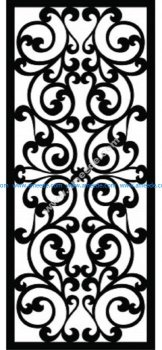 Decorative Screen Pattern 9